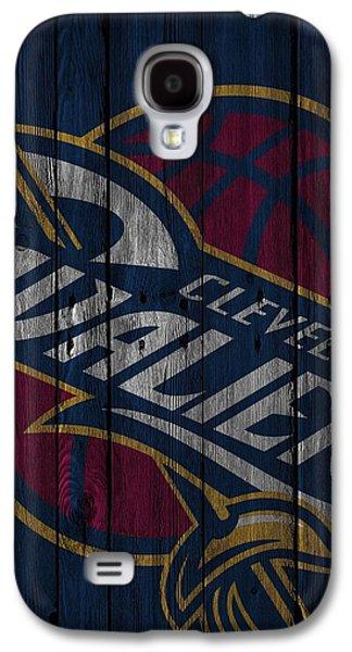 Cleveland Cavaliers Wood Fence Galaxy S4 Case by Joe Hamilton