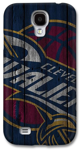 Cleveland Cavaliers Wood Fence Galaxy S4 Case
