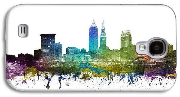 Cleveland Cityscape 01 Galaxy S4 Case