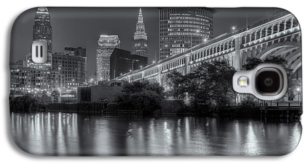 Cleveland Night Skyline IIi Galaxy S4 Case