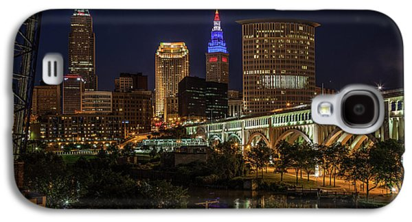 Cleveland Nightscape Galaxy S4 Case