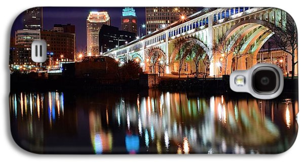 Cleveland Ohio Skyline Galaxy S4 Case