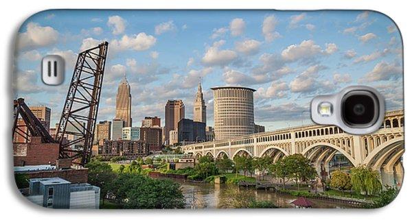 Cleveland Skyline Vista Galaxy S4 Case