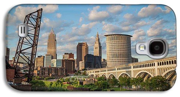 Cleveland Summer Skyline  Galaxy S4 Case