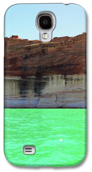 Cliff At Lake Powell Galaxy S4 Case
