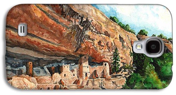 Cliff Palace Mesa Verde Galaxy S4 Case by Timithy L Gordon
