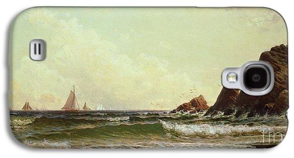 Cliffs At Cape Elizabeth Galaxy S4 Case by Alfred Thompson Bricher