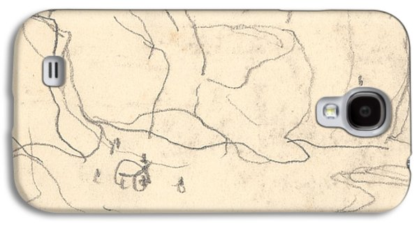 Cliffs Near Pourville-varengeville Galaxy S4 Case