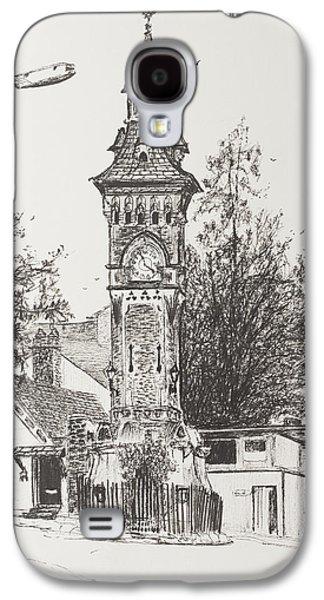 Clock Tower  Hay On Wye Galaxy S4 Case