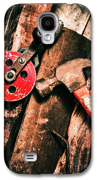 Close Up Of Old Tools Galaxy S4 Case by Jorgo Photography - Wall Art Gallery