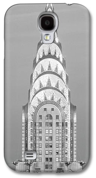 Close Up Of The Chrysler Building At Sunset. It Is The View From 42nd Street And 5th Avenue. Galaxy S4 Case by Panoramic Images