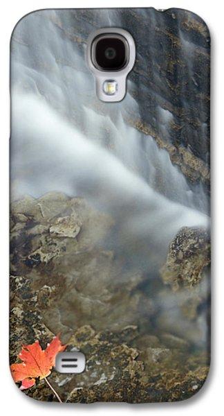 Closeup Maple Leaf And Decew Falls, St Galaxy S4 Case
