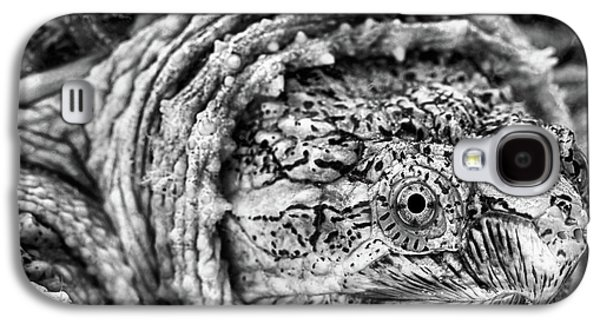Galaxy S4 Case featuring the photograph Closeup Of A Snapping Turtle by JC Findley