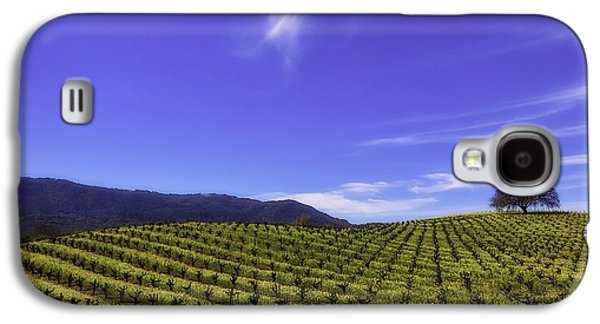 Cloud Above The Vineyards Galaxy S4 Case by Garry Gay