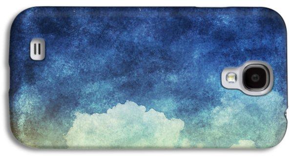 Temperature Galaxy S4 Cases - Cloud And Sky At Night Galaxy S4 Case by Setsiri Silapasuwanchai