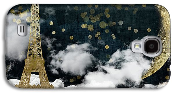 Cloud Cities Paris Galaxy S4 Case
