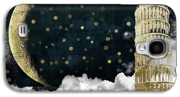 Cloud Cities Pisa Italy Galaxy S4 Case by Mindy Sommers