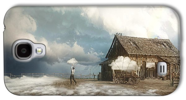 Finch Galaxy S4 Case - Cloud Farm by Cynthia Decker