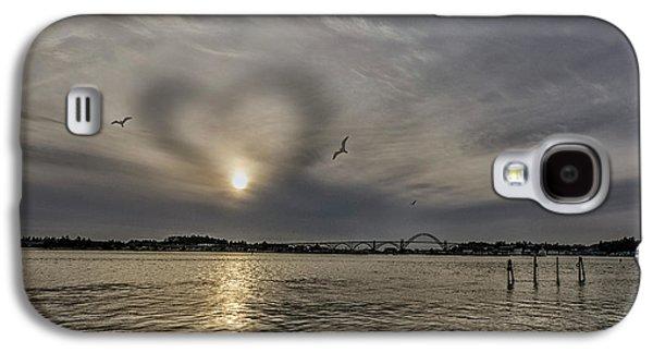 Cloud Heart Galaxy S4 Case