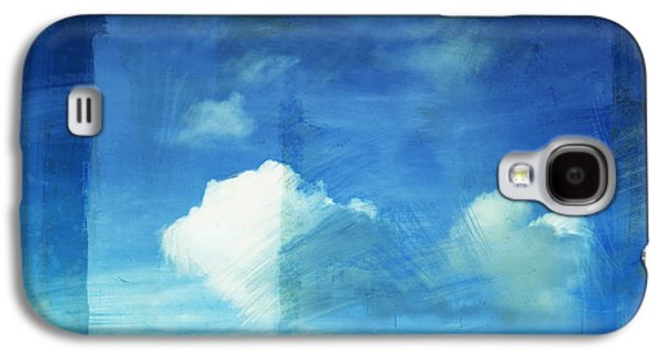 Torn Galaxy S4 Cases - Cloud Painting Galaxy S4 Case by Setsiri Silapasuwanchai