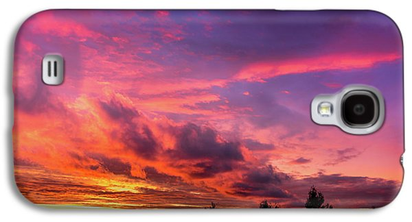 Clouds At Sunset Galaxy S4 Case
