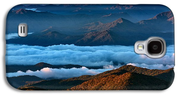 Clouds In The Valley Galaxy S4 Case
