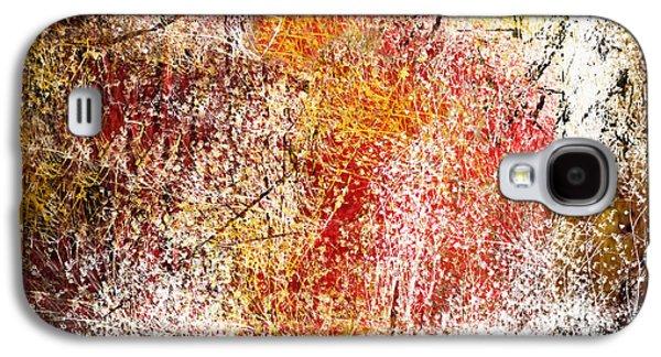Clouds Of Fire Galaxy S4 Case by Art Spectrum