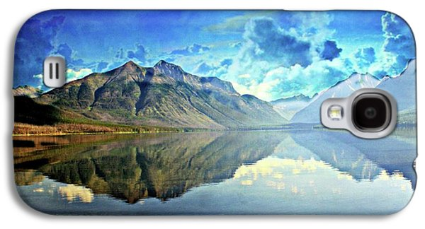 Clouds Over Lake Mcdonald 2 Galaxy S4 Case by Marty Koch