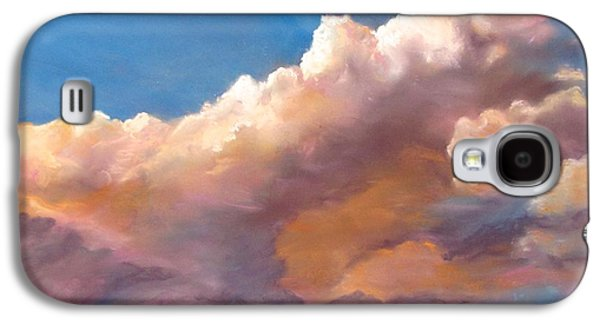 Clouds Over The Island Galaxy S4 Case by Jack Skinner
