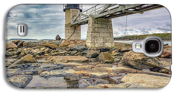 Cloudy Day At Marshall Point Galaxy S4 Case by Rick Berk