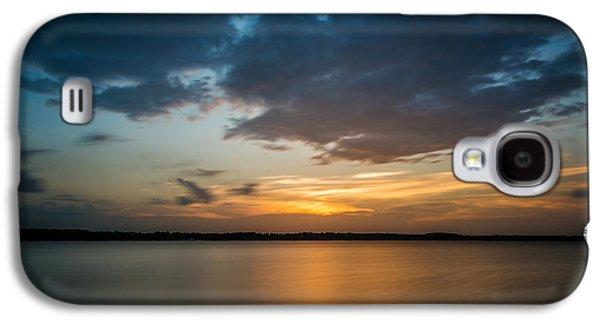 Cloudy Lake Sunset Galaxy S4 Case