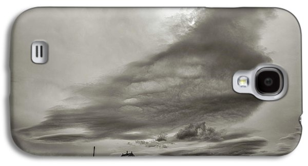 Galaxy S4 Case featuring the photograph Cloudy Sky, Karakorum, 2016 by Hitendra SINKAR