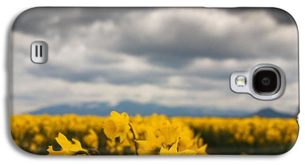 Cloudy With A Chance Of Daffodils Galaxy S4 Case by Erin Kohlenberg