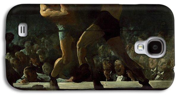 Club Night Galaxy S4 Case by George Bellows