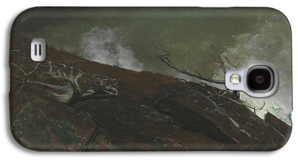 Coast Of Maine Galaxy S4 Case by Winslow Homer