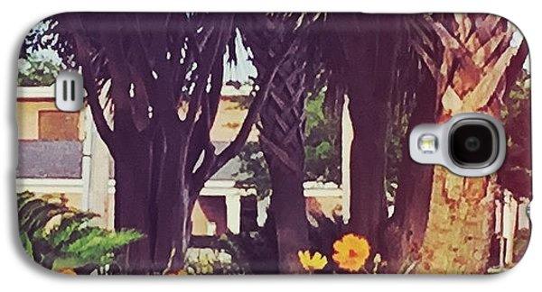 Orange Galaxy S4 Case - Coastal Beauty #art #msgulfcoast by Joan McCool