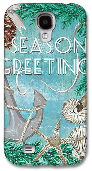 Coastal Christmas Card Galaxy S4 Case by Debbie DeWitt