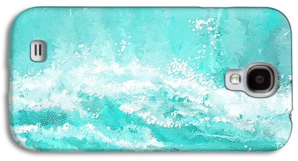 Coastal Inspired Art Galaxy S4 Case by Lourry Legarde