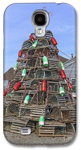 Coastal Maine Christmas Tree Galaxy S4 Case