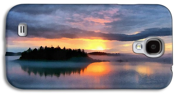 Coastal Maine Sunset Galaxy S4 Case