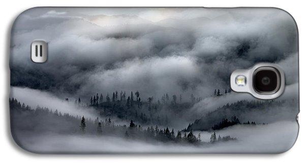 Coastal Range Ocean Fog Galaxy S4 Case