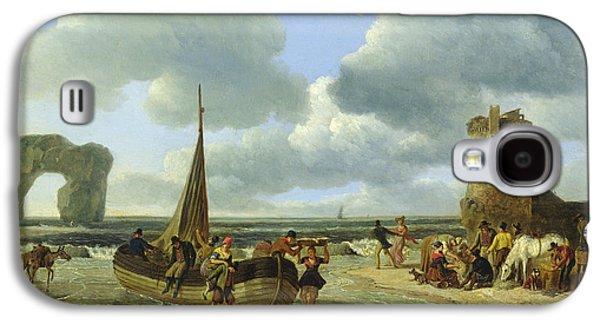 Coastal Scene Galaxy S4 Case by Jean Louis De Marne