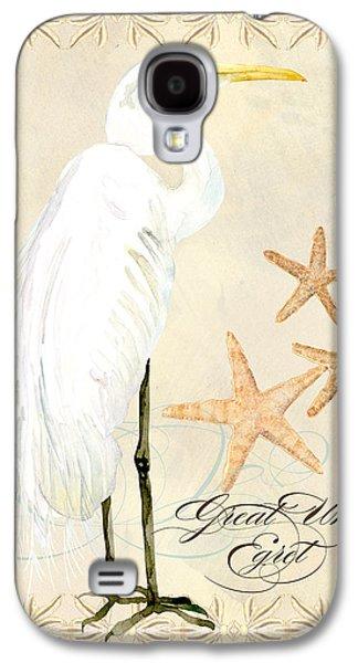 Coastal Waterways - Great White Egret Galaxy S4 Case