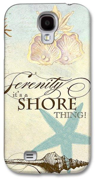 Coastal Waterways - Seahorse Serenity Galaxy S4 Case by Audrey Jeanne Roberts