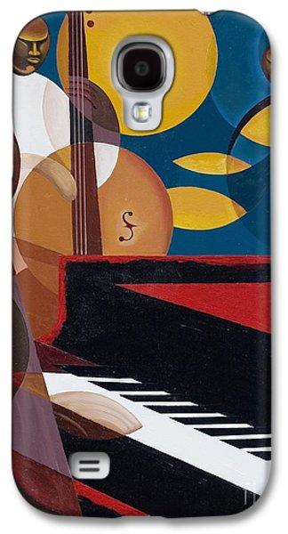 Cobalt Jazz Galaxy S4 Case by Kaaria Mucherera
