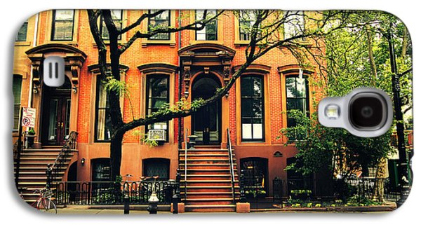 Cobble Hill Brownstones - Brooklyn - New York City Galaxy S4 Case by Vivienne Gucwa