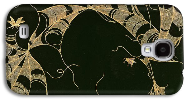 Cobwebs And Insects Galaxy S4 Case by Japanese School