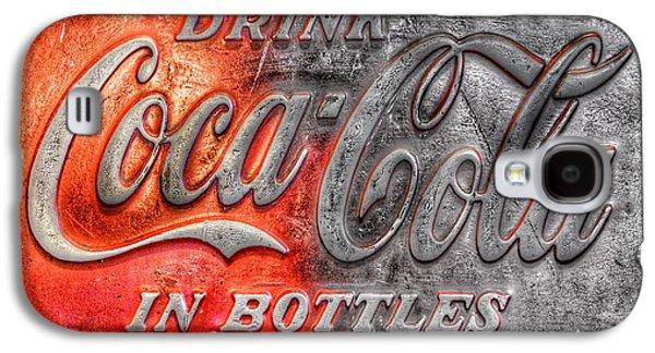 Coca Cola Galaxy S4 Case by Marianna Mills