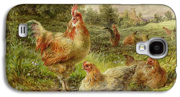 Cochin China Fowls Galaxy S4 Case by George Hickin