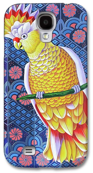 Cockatoo Galaxy S4 Case by Jane Tattersfield